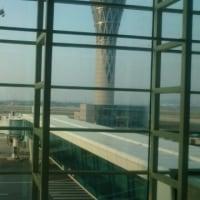 今、深セン空港です。