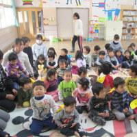 お話の会(1歳児から3歳児対象)