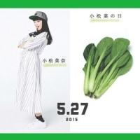 「小松菜の日」!!「語呂合わせ」!!
