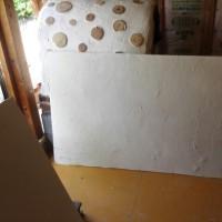 外壁を剥がし手際よく完了
