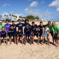 ビーチサッカー日本代表 アメリカ遠征