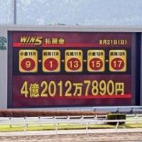 日曜日は堀厩舎デー!WIN5は史上初の4億円超え!