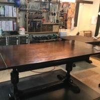 アンティークのドローリーフテーブル