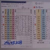 今日のゴルフ挑戦記(111)/東名厚木CC イン(B)→ウエスト