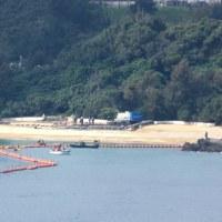 K9護岸工事の近くにどうして汚濁防止膜がないのか?