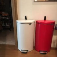 brabantiaのゴミ箱、2つ