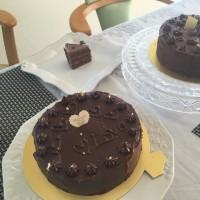 「チョコレートケーキ」のレッスンがありました