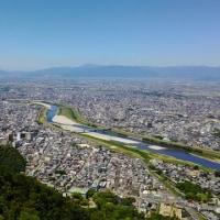 岐阜金華山絶景・長良川とレンタサイクル