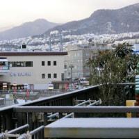 宝塚も雪です