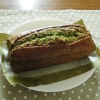 ほうれん草のパウンドケーキとラーメンの小池さん?