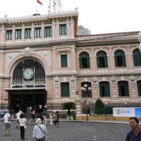 楽しかった旅の一コマ (119) ホーチミン中央郵便局とサイゴン大教会