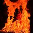 天狗の火渡り