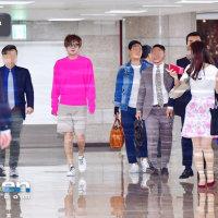 チャン・グンソク 4月26日午後金浦空港を通じて空港ファッション 日本に出国した