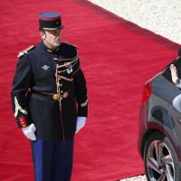2017年5月14日、フランスの新大統領就任