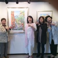 2017『関本紀美子カラフルスケッチ展』にご来場いただきありがとうございました。