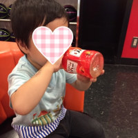 初ボーリング☆3歳2ヶ月