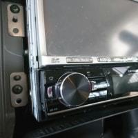 「日産キューブ H18年式 オーディオ載せ替え」