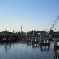 〝松本橋〟道路面が・・・・
