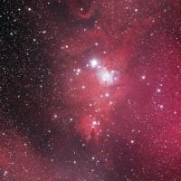 コーン星雲付近のつもり