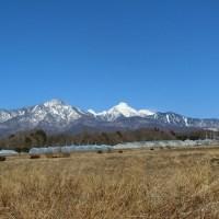 清里より下からの山々