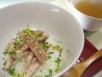 秋刀魚の出汁茶漬け