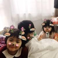 入院3日目子どもたちが来てくれました