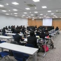 卒論発表会、卒業生送別会2017年2月