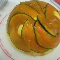かぼちゃのムース。