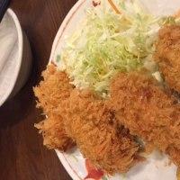 アジフライ牡蠣フライ