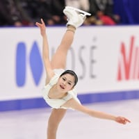 NHK杯2016での宮原知子さんのフリー