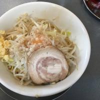 らーめんぬーぼう谷地店(3)のカッシーナ(麺2/3)+ニンニク・750円(-50円)☆