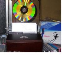 路上ライブ1000回達成記念オルゴール付ゴールドディスク盾