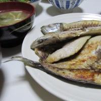 2/21アジの開きで夕ご飯
