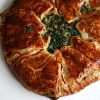 ほうれん草とブルーチーズのパイ