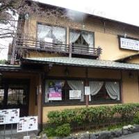 京都円山公園傍の大正ロマン亭でランチ