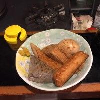 初めて食べた