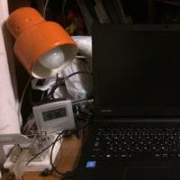 鎮座するパソコン