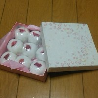 ブログ170311 桜のお饅頭と、さよならおすこ。