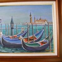 海外旅行で描いた油彩画(その21)