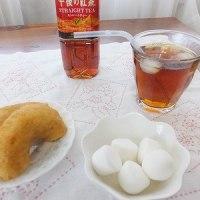 マシュマロとドーナツと午後の紅茶