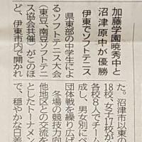 静岡新聞に掲載
