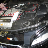 デジタルスピードのインストールAUDI TT 8J 3,2