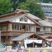 草津温泉から宿泊の蓼科グランドホテルへ2015・9・4