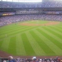 メジャーリーグの球場の広さはそれほどでもない