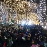 16仙台光のページェント「スターライトファンタジー」パレード