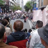 野毛大道芸を見に行きました。