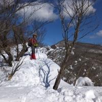 今年も雪の鍋割山へ