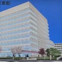 藤沢市新庁舎工事近況報告④東面