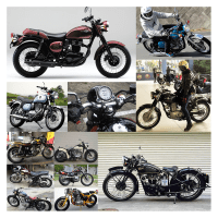 ちょうど良いビンテージ風バイク、カワサキ・エストレイア。(番外編vol.1033)