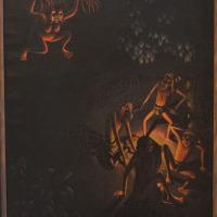 バリの風景 ブラックマジック・不思議